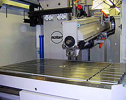 Centeplex 6-axis gun drilling photo